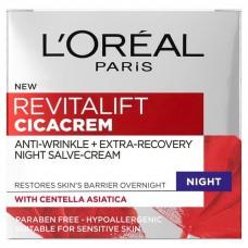 L'Oreal Paris Revitalift Cica Cream Night 50ml