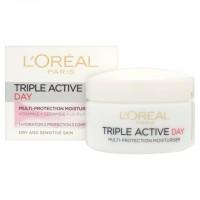 L'Oreal Triple Active Day Pot Dry / Sensitive 50ml