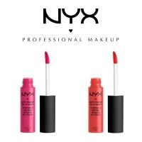 2 x NYX Professional Makeup Soft Matte Lip Cream - 8ml