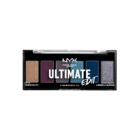 NYX Ultimate Edit Petite Shadow Palette - ASH - COOL GREYS & BLUES