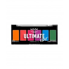 NYX Ultimate Edit Petite Shadow Palette - BRIGHTS