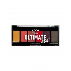 NYX Ultimate Edit Petite Shadow Palette - PHOENIX - FIERY RED & CORALS