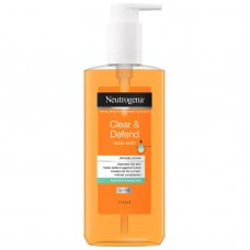 Neutrogena Clear & Defend Facial Wash - 200ml OR