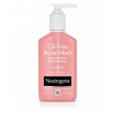 Neutrogena Pink Grapefruit Acne Face Wash & Cleanser with Vitamin C & Salicylic Acid - 177ml