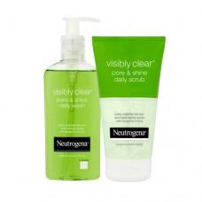 Neutrogena Visibly Clear Pore & Shine Daily Wash & Scrub