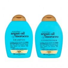 OGX Moroccan Argan Oil Shampoo & Conditioner - 385ml