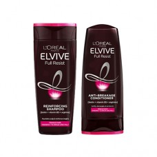 L'Oreal Elvive Full Resist Fragile Hair Reinforcing Shampoo & Conditioner 400ml