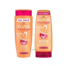 L'Oreal Elvive Dream Lengths Long Hair Shampoo & Conditioner 700ml