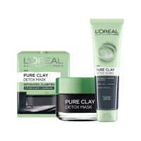 L'Oreal Paris Pure Clay Detox Mask & Wash 50ml