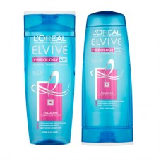 L' Oreal Elvive Fibrology Air Shampoo & Conditioner 400ml