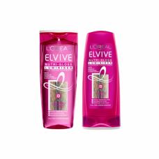 L' Oreal Elvive Nutrigloss Luminiser Shampoo & Conditioner 400ml