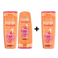 L'Oreal Elvive Dream Lengths Long Hair Shampoo & Conditioner 400ml