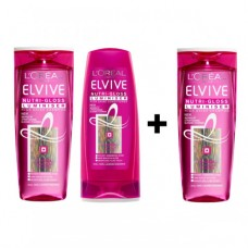 L' Oreal Elvive Nutrigloss Luminiser Shampoo & Conditioner 400ml