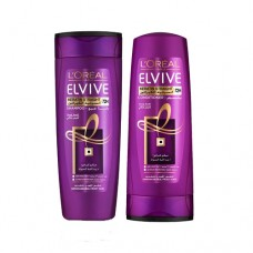 L' Oreal Elvive Keratin Straight Shampoo & Conditioner 400ml