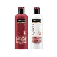 TRESemmé Keratin Smooth Shampoo  & Conditioner 500ml