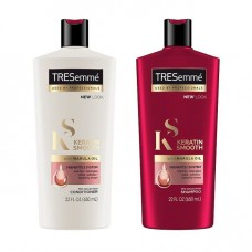 TRESemmé Keratin Smooth Shampoo  & Conditioner 650ml