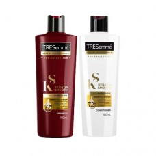 TRESemmé Keratin Smooth Shampoo  & Conditioner 400ml